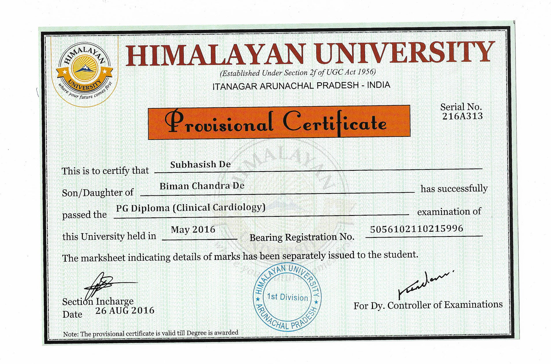 Cmj university phd degree verification